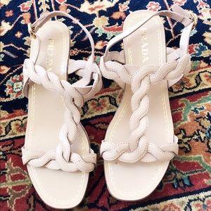 Prada Nude Sandals